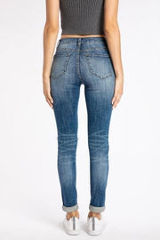 KanCan - Goddess Mid Rise Medium Wash Jeans
