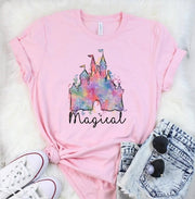 Disney Castle Graphic Tee (S-4XL)