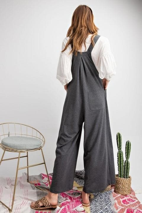 Easel - Just Because Wide Leg Jumpsuit