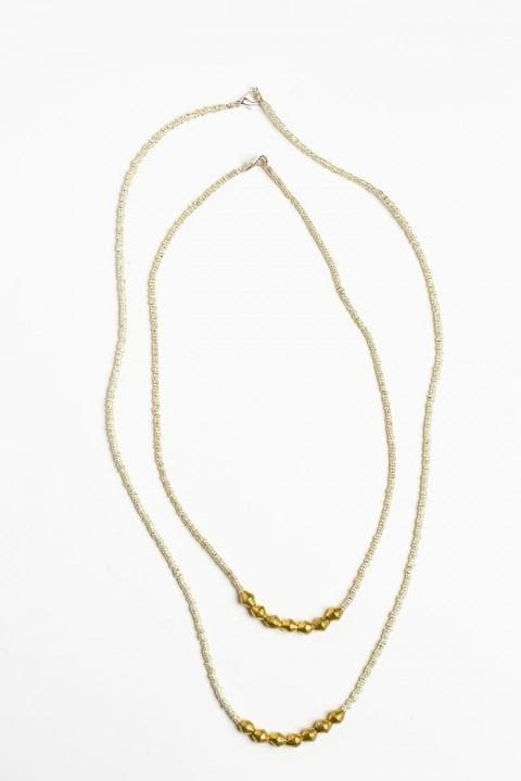 Ethiopia Doka Necklace - 26""