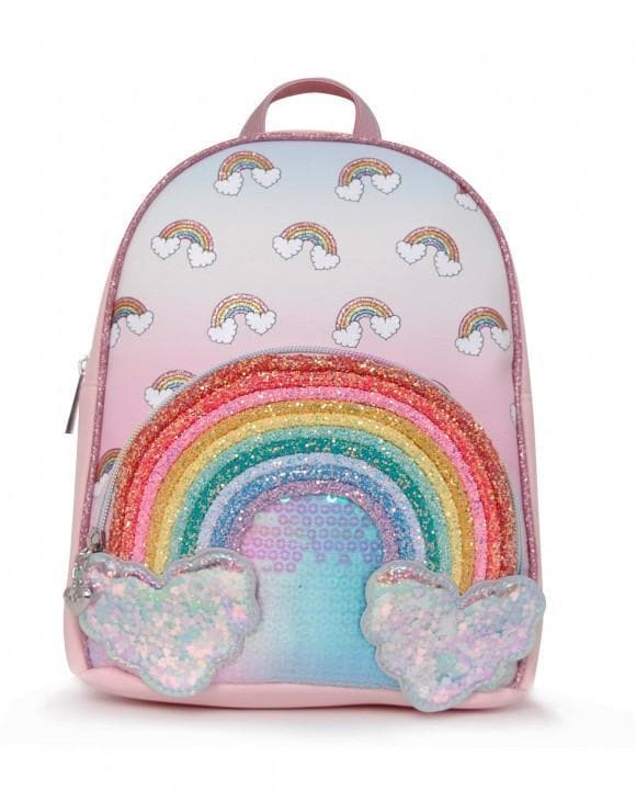 Rainbow Cloud Mini Backpack