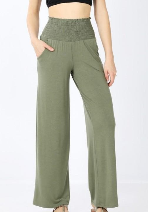 Doorbuster Smocked Waistband Lounge Pants (S-3XL)