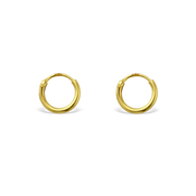 Tiny Mini Minimal Hoops Huggies Earrings