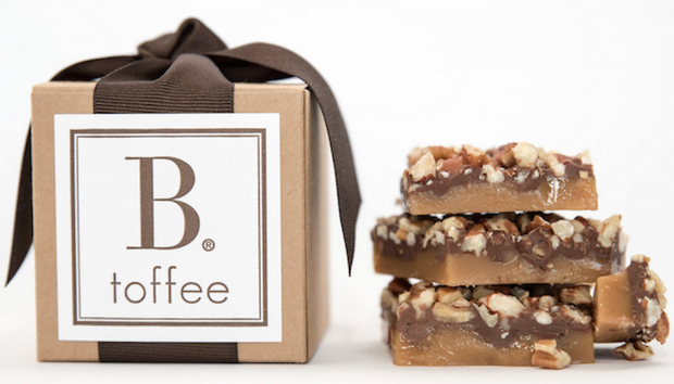 B. Toffee 4oz Kraft Box