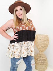 Sleeveless Detailed Top (S-2XL)