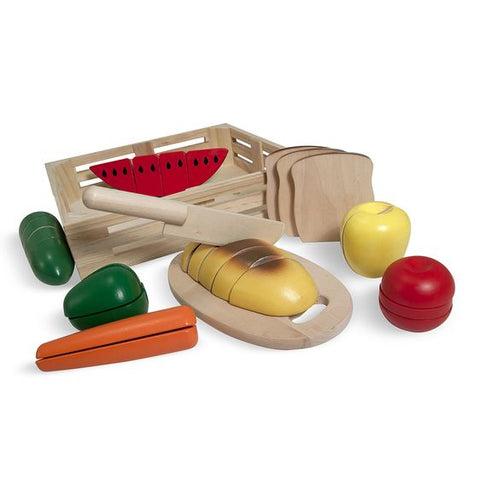 Melissa and Doug Wooden cutting food
