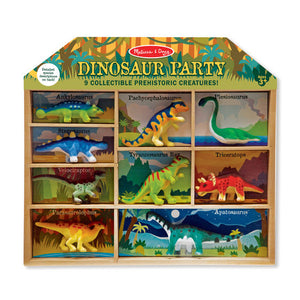 Melissa and Doug Dinosaur Party Play Set