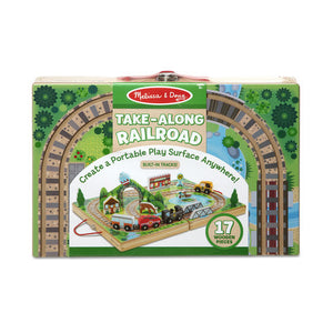 Melissa and Doug Take-Along Tabletop - Railroad