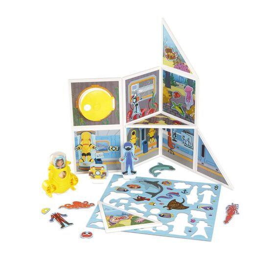Magnetivity Magnetic Building Play Set - Underwater Adventure