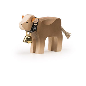 Trauffer Braunvieh Calf with Bell