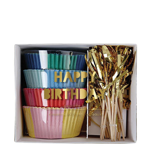Meri Meri Happy Birthday Cupcake Kit