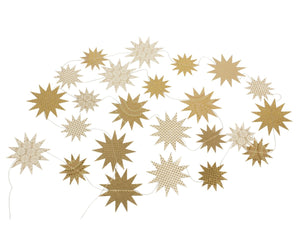 Maileg Paper Star Garland, Gold