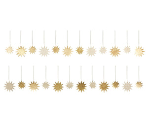 Maileg Paper Star Ornaments, Gold