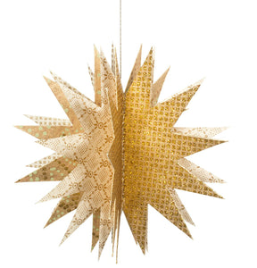 Maileg Paper Star, Gold