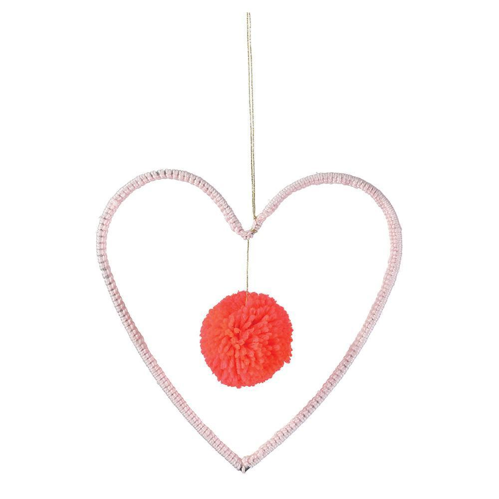 Meri Meri Wire and Wool Heart Decoration