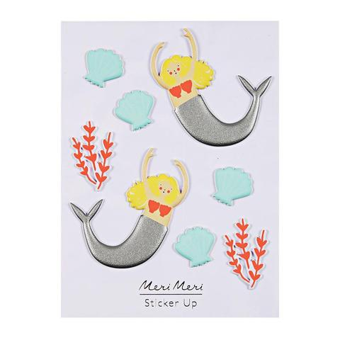 Meri Meri Puffy Stickers - Mermaids