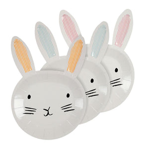 Meri Meri Bunny Shaped Plates