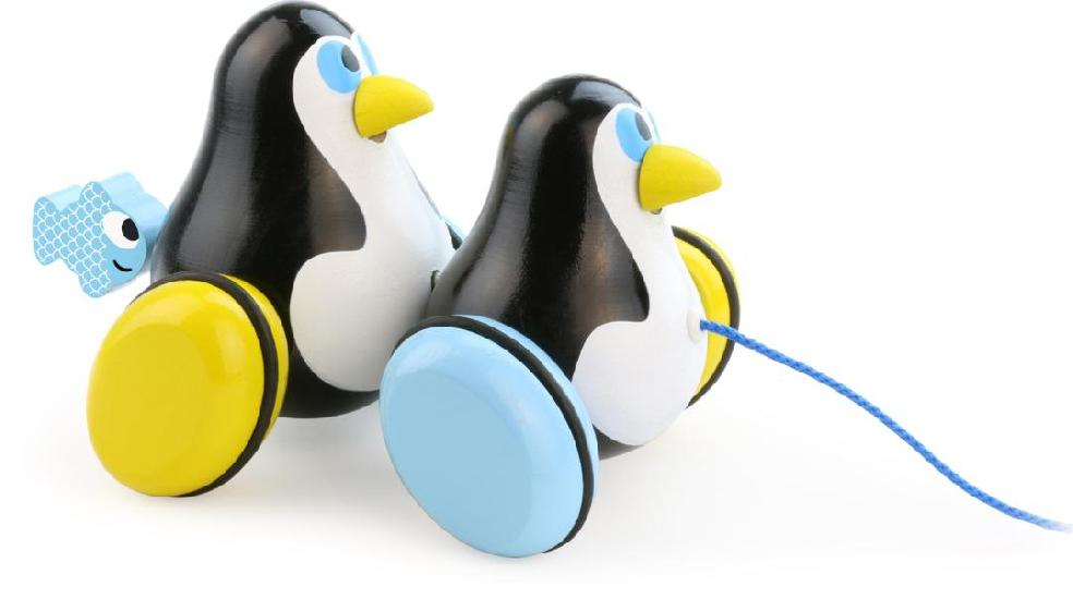 Pull Toy Penguins