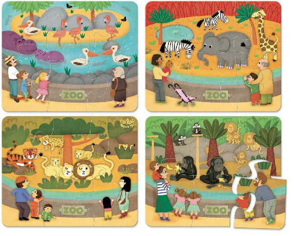 Wooden Zoo Puzzle