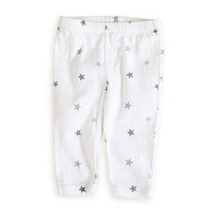 Aden and Anais Twinkle Tiny Star Muslin Pants