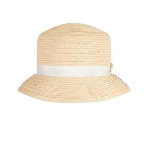 Petit Bateau Summer Straw Hat with Bow