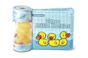 Melissa & Doug Three Little Duckies, Bath Book with Float Alongs