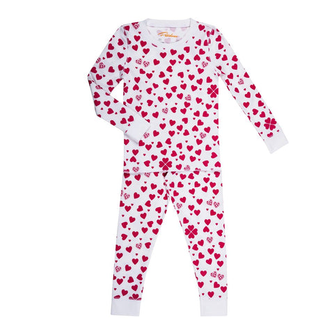 Petidoux Lots of Hearts Pajamas