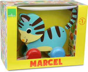 Vilac Pull Toy Marcel Cat