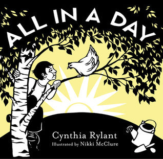 all in a day: cynthia rylant, nikki mcclure