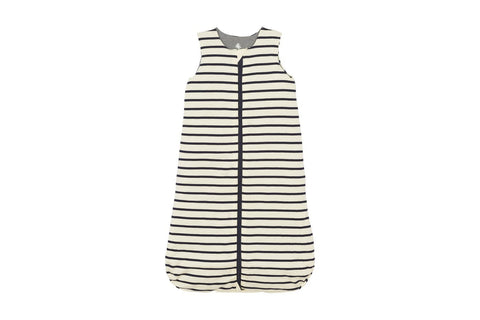 Petit Bateau White and Navy Stripe Sleeping Bag