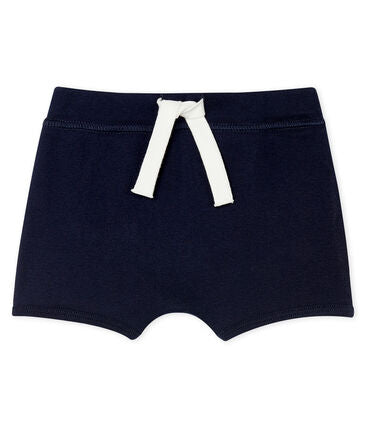 Baby Plain Shorts - Navy