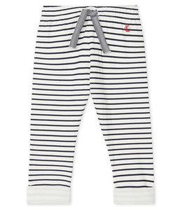 Petit Bateau Baby Stripped Tube Knit Pants