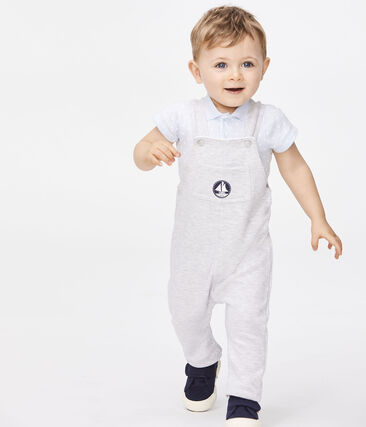 Baby Grey Long Overalls