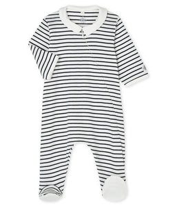 Babies' Ribbed Zipped Sleeper