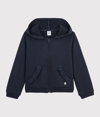 Ruffles Hooded Sweatshirt