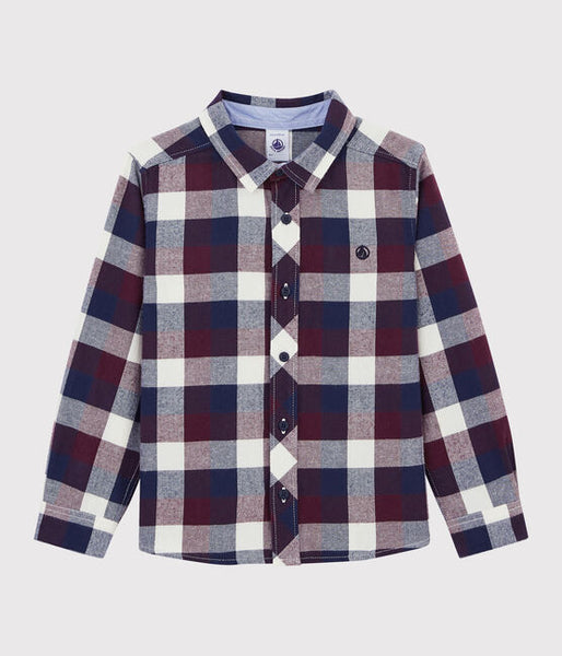 Collared Checked Shirt