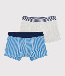 Pack of 2 Pinstriped Boxer Shorts