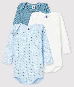 Long-sleeved Onesies 3-pack