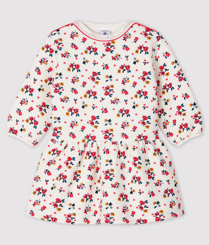 Baby Long-sleeved Flowery Dress