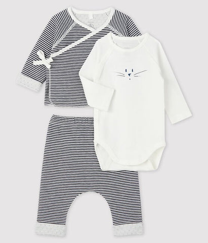 Baby 3-Piece Set - Stripped