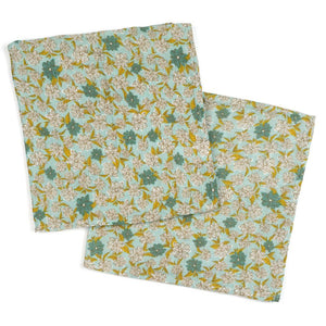 Milkbarn Bamboo Bundle of Burpies - Blue Floral