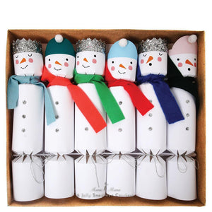 Meri Meri Snowman Large Crackers