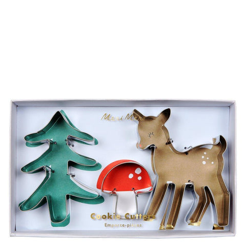 Meri Meri Woodland Cookie Cutters