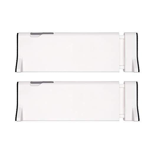 OXO Good Grips Expandable Dresser Drawer Divider (2 Pack)