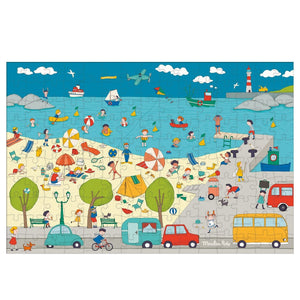 Moulin Roty Aujourd hui cest mercredi - At the Seaside Puzzle