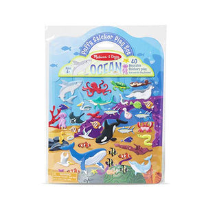 Reusable Puffy Stickers - Ocean