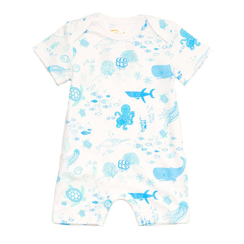 Petidoux Under the Sea Romper