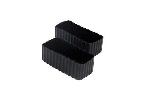 Bento Cups Rectangle – Black