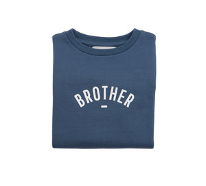 Brother Sweatshirt - Denim Blue