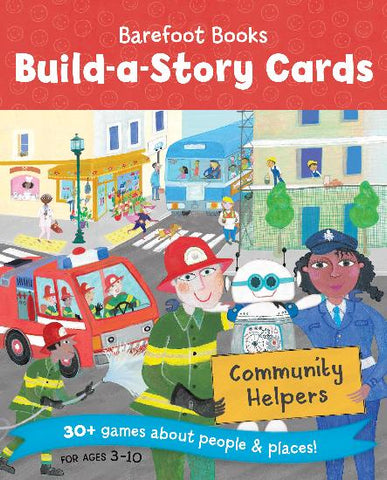 Barefoot Books Build-A-Story Cards: Community Helper
